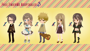 Free TinierMe Adoptables v3 -CLOSE- by Asunaw