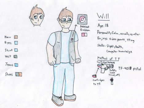 Will (Reference) by Pokefan-Tf