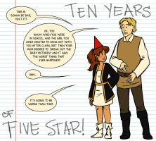 Ten Years of Five Star by lauramw