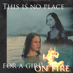Catching Fire: Katniss by AliceCullen88