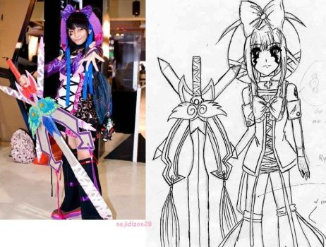 art and costumes created by me by Nejigiftyholic