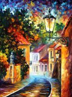 Evening by Leonid Afremov by Leonidafremov