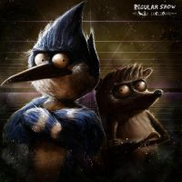 Regular Show by flavioluccisano