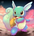 Wartortle by Pand-ASS