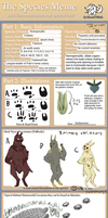 Colepta species sheet and or meme by shrimpmuffin