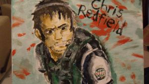Chris Redfield - Paintwork by Hukkis