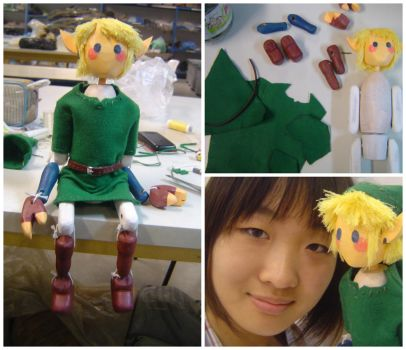 The Hero from the Woodlands (Puppet Link) by LetsongAkemi