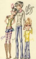 TFP: Introducing the kids: Miko, Jack and Raf by another-language