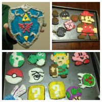 Nerdy Christmas Cookies by Nsomniotic