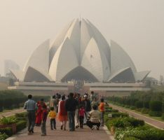 LotusTemple1 by 99thbone