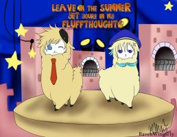 APH- Leave In the Summer (DenNor Cross Over) by RavenWingsFly