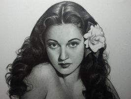 Dorothy Lamour by casey62