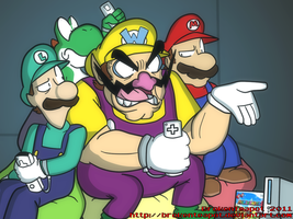 MARIO'S PARTY by BrokenTeapot
