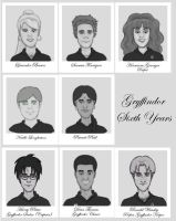 Gryffindors 1991-1998 by Rotae