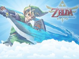 TLoZ Skyward Sword Wallpaper 2 by Link-LeoB