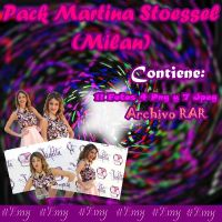 Pack Martina Stoessel (Milan). Fotos Jpeg y Png by Emy2001