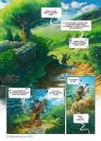 Chronicle of Black Willow - Comics strip 4 by MabaProduct