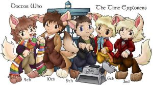 The Time Lords by MalisVitterfolk
