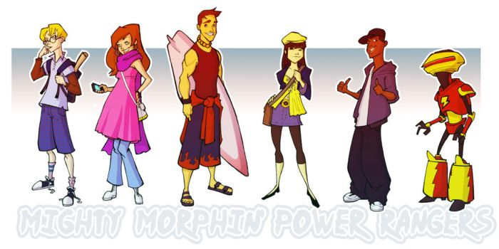 Migthy and Morphin' by AviKishundat