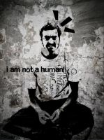 i am not a human by santaemre