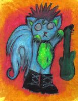 Rock Kitty by chelsmith18