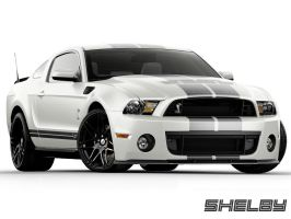 Shelby GT500 White Grey - Alt Wheels by lovelife81