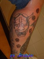 Hannya by GetSomeInk