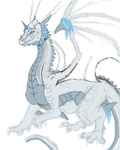 Keyary's Dragon Form W.I.P. by DragonGirl-Lucky-13