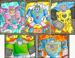 Transformers Sketch Cards by zaymac