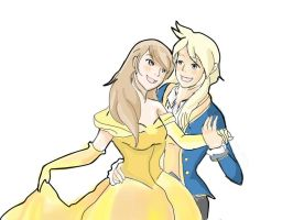 beauty and the beast by Windwolf667