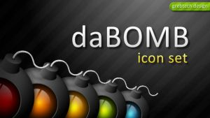 daBOMB Icon Set by grebtech