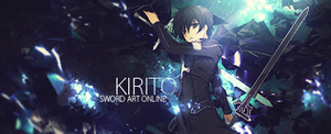 Kirito - Sword Art Online by TwitterWC