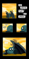 The Bird and The Knight Pg.10 by Rhylem