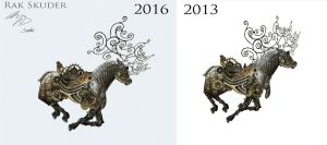 Before and After - Run cycle by RakSkuder