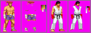 Nick - Adon and Ryu costumes by God-of-Death-Alex