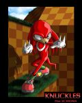 Knuckles the Echidna by VladimirJazz