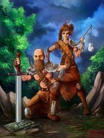 Warriors by kovah