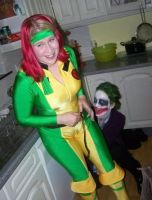 Joker and Rogue by sarahbevan11