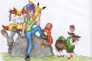 My Pokémon Team by Novum-Semita