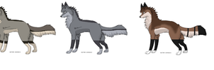 Wolf breedables by Icey-adopts