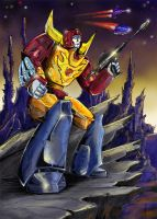 Rodimus on Chaar by Hemachatus