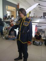 Squall Leonhart (Seed) - Cosplay 1 by JohnnyGG95