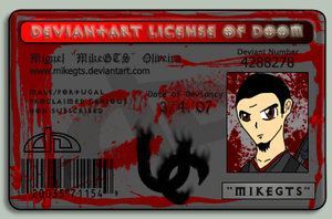 MikeGTS ID Card by MikeGTS