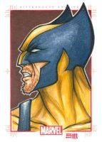 WOLVERINE Sketch Card by Erik-Maell