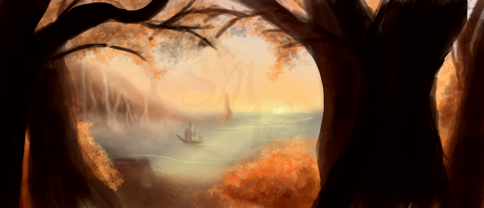 Farewell to Summer Speedpaint by SaucyMuse