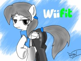 Wii Fit Trainer (MLP Version) by SonicArt100
