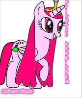 ::princess bubblegum::pony version:: by chikarosita99