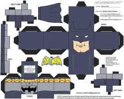 DC SH 1: Batman Cubee by TheFlyingDachshund