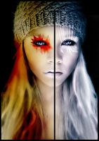 split personality by ZeBiii