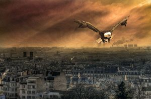 Bonne Annee eagle by shark-graphic